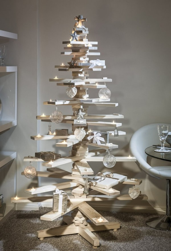 Cây thông handmade làm bằng gỗ