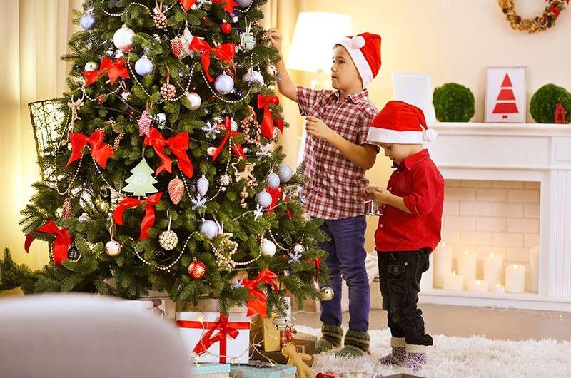 Cây thông Noel mang ý nghĩa ấm no, an lành