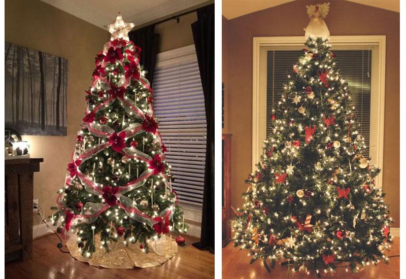 Hướng dẫn trang trí cây thông Noel 2m