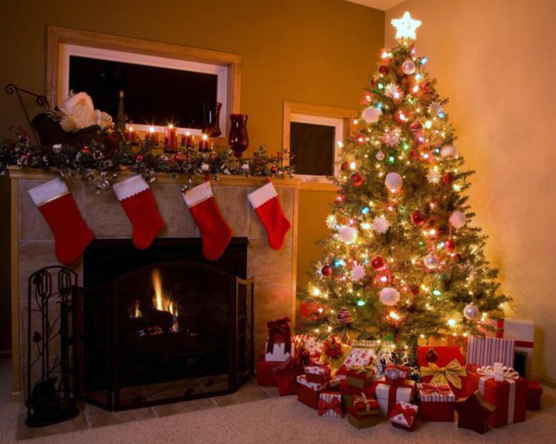 Cây thông Noel mang hơi thở cổ điển