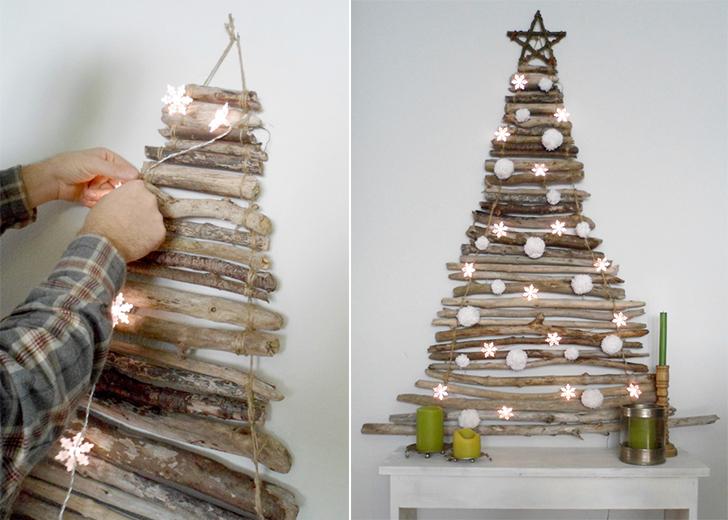Cây thông Noel bằng gỗ