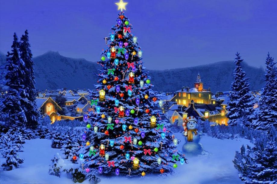 Nên mua cây thông nhựa hay cây thông noel nhập khẩu cho đêm giáng sinh
