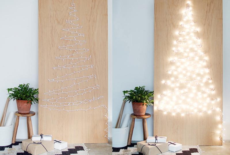 Cây thông Noel phát sáng rực rỡ
