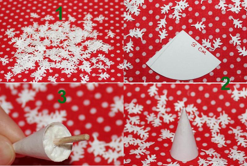Làm cây Noel mini siêu đáng yêu