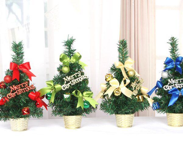 Cây thông Noel mini làm quà tặng - ý nghĩa, đơn giản