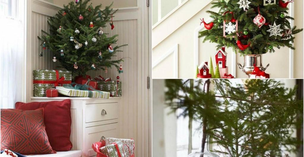 Trang trí cây thông Noel mini đơn giản